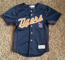 DETROIT TIGERS  # 24 CABRERA BUTTOM DOWN MLB BASEBALL JERSEY BY TRUE FAN  YTH. S