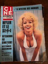 Journal Ciné Revue Marylin Monroe magazine n°26/année 70/journal vintage