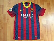 CLASSIC FC BARCELONA 2013-2014 MENS S SMALL FOOTBALL HOME NIKE SHIRT