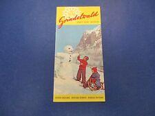 International Swiss Travel Brochure, Skiing, Grindelwald, Oberland Bernois, S662