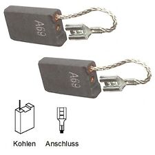 Escobillas motorkohlen Bosch 11245evs, 11311evs - 6,3x16x26mm favorable (2059)