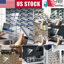 Modern 3D Sticker Kitchen Tile Stickers Bathroom Self-adhesive Wall Home Decor