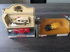 3 LLEDO / CORGI MODEL CARS