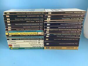 30x Robert A. Heinlein Science Fiction Taschenbuch Sammlung