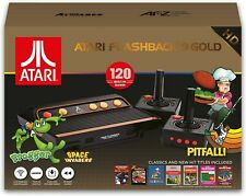 Atari Flashback 9 Gold HD Retro Classic Gaming Console 120 Built-in Games - LN™