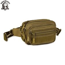 Men's Waist Bags Military Tactical Adjustable Belt Fanny Pack Molle Handy Hiking