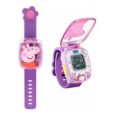 VTech Peppa Pig Learning Watch Tn80526000004 From Tates Toyworld