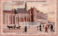 French Castle Chateaux - Chateau De  Saint - Germain c1900 Trade Ad Card