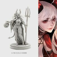 Devil Satan Pinup Halloween Model for Kingdom Death Game Resin Figure 30 mm