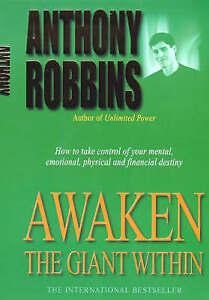 Awaken the Giant Within by Tony Robbins (2001, Paperback)