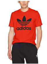 adidas Originals Men's Tops Trefoil Tee, Core Red, Small