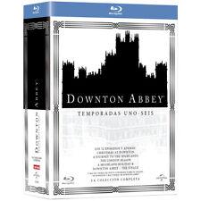 Downton Abbey SERIE COMPLETA EN Blu-Ray CASTELLANO EDICION ESPAÑA NUEVA
