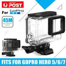 Waterproof Diving Black Camera Accessories 45m Housing Case For GoPro Hero 7 6 5