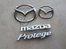 02-03 Mazda Protege 5 Grille Logo S41A 51 731 Tailgate DC01 51 730 Emblem Set