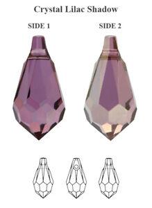 Genuine SWAROVSKI 6000 Teardrop Crystals Pendants * Many Sizes & Colors