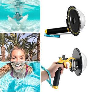 TELESIN Dome Port Underwater Diving Camera Lens Cover Fits  GoPro Hero 8