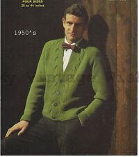 Unbranded Men's Cardigans Patterns