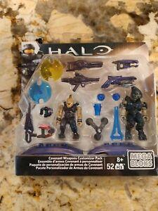 Mega Bloks Construx Halo CNH22 Covenant Weapons Customerize Pack damaged box