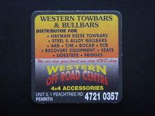 WESTERN TOWBARS & BULLBARS OFF ROAD CENTRE UNIT 3 1 PEACHTREE 47210357 N COASTER