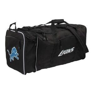 NFL Football Detroit Lions Sports Bag Duffle Bag Steal Nortwest