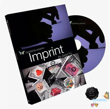 Imprint (DVD and Gimmick) by Jason Yu - Magic Tricks,Card,Mentalism,Close Up,Fun