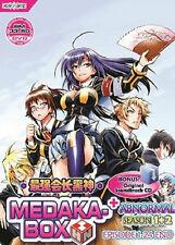 Medaka Box Sea.1 + 2 (TV 1 - 24 End) DVD + CD + EXTRA DVD