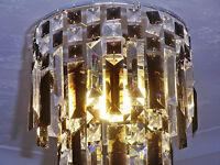RETRO VINTAGE CHANDELIER CEILING LIGHT SHADE PENDANT GOTHIC BLACK DROPLETS LAMP