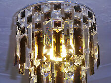 RETRO VINTAGE CHANDELIER CEILING LIGHT SHADE PENDANT GOTHIC BLACK DROPLETS LAMP