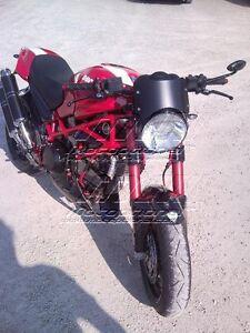 Cupolino Cafe Racer Ducati Monster fino al 2008
