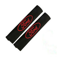 2PCS Car Seat Safety Belt Cover Flannelette Shoulder Pads Cushion fit for Ford
