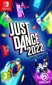 Just Dance 2022 (Switch) Pre Order Out 4th Nov Brand New & Sealed Free UK P&P