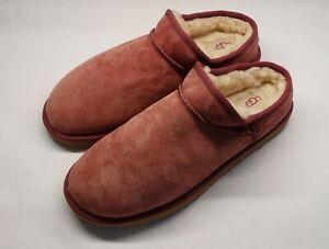 UGG Australia Women Classic Slipper S/N 1009249 Slides Mules Ruby Size 12