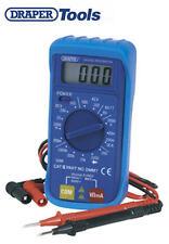 DRAPER Digital LCD Multimeter Voltmeter Ammeter OHM AC DC Circuit Tester 52320