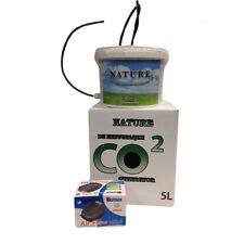 Generador de CO2 De La Naturaleza/Booster Contenedor/Cubo 5L con bomba de aire Hydroponics