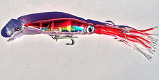 SQUID JIG TROLLING FISHING LURE SALT WATER BARRACUDA BONITO SKIPJACK KING MACKER
