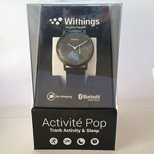 NEW Withings Activite Pop Activity & sleep Fitness Tracker Smart Watch Black NIB