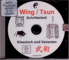 DVD  Schrittarbeit im weichem Wing / Tsun nach dem Drehtürprinzip