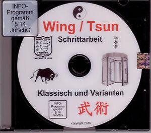 DVD  Schrittarbeit / Beinarbeit im weichem Wing / Tsun nach dem Drehtürprinzip