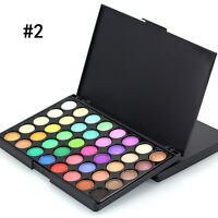40 Warm Colors Pigment Matte & Shimmer Eyeshadow Palette Eye Shadow Cosmetic·Pro
