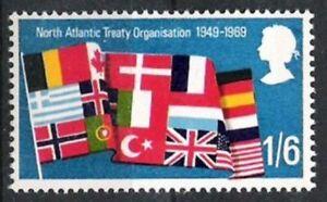 Großbritannien Nr.514 ** 20 Jahre Nato 1969, postfrisch