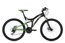Mountainbike Fully 26'' Nice schwarz-grün MTB 21 Gänge RH 48 cm KS Cycling 233M