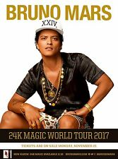 BRUNO MARS TOUR POSTER 1 - A3 SIZE 297x420mm - FAST SHIPPING FROM UK