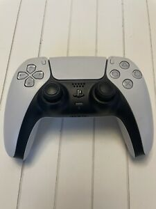 SONY PLAYSTATION 5 PS5 WIRELESS CONTROLLER BLACK AND WHITE (MODEL: CFI-ZCT1W)
