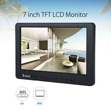 7inch HD TFT LCD Screen AV/CVBS/BNC Audio Monitor BNC AV For Car TV DVR Camera