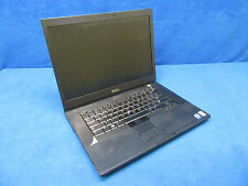 Dell Precision M4400 Notebook/Laptop w/ Intel Core 2 Duo 2.40GHz 2GB RAM No HDD