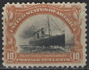 United States of America - Passenger ship - 10 c. - Mi 137 / Sc 299 - 1901 - MNH