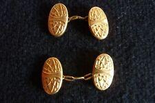 Boutons De Manchette métal doré Oria réf 225