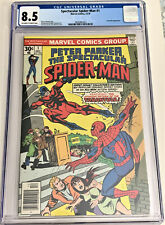 Spectacular Spider-Man #1 12/76 CGC 8.5 ow/w pgs (1st issue, 2nd Spidey series)