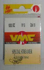 VMC: hameçons Spécial streamer N°16 ref: 9283BZ par 10