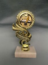 literature insert trophy award marble base